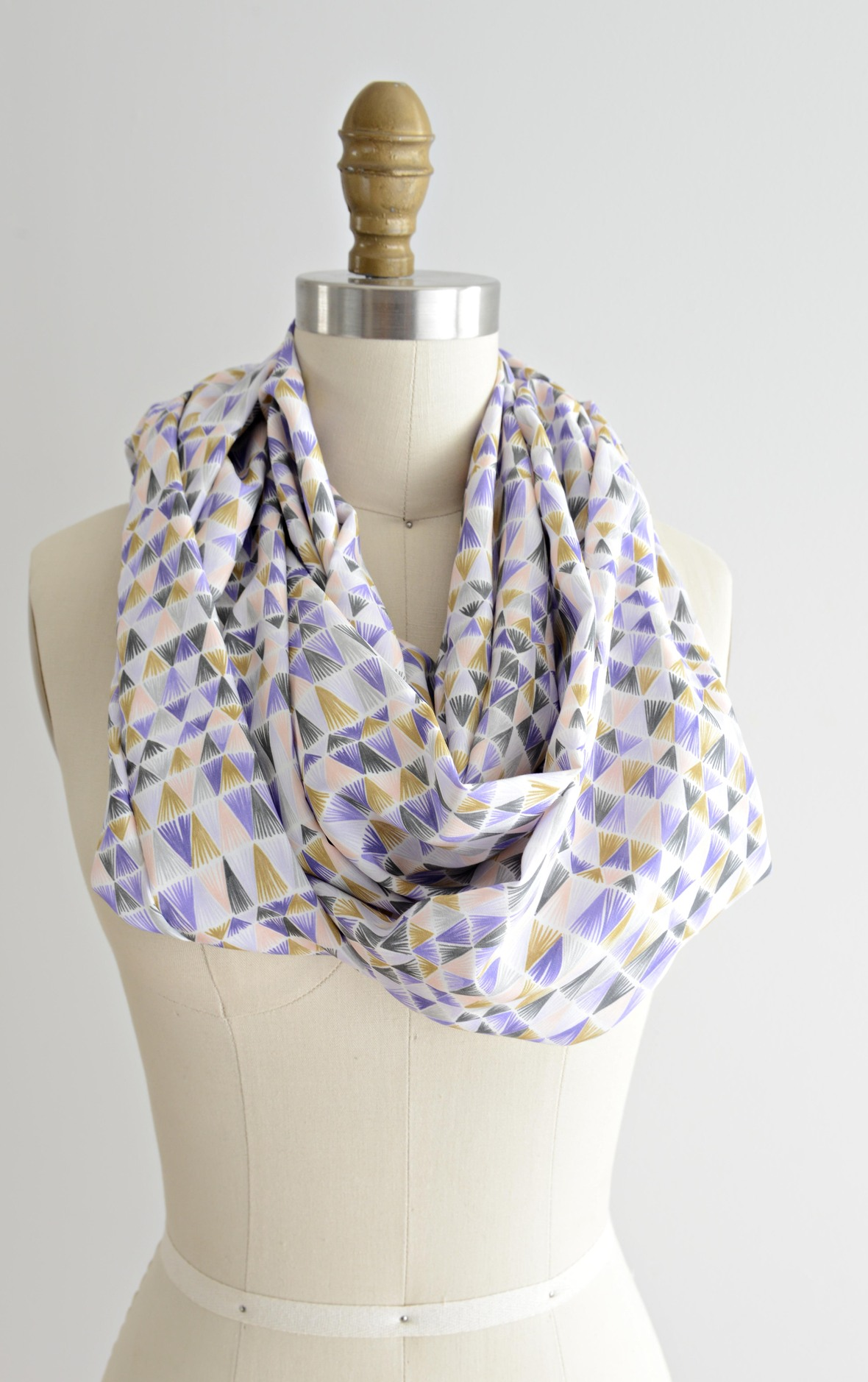 Ultraviolet Rayon Scarf
