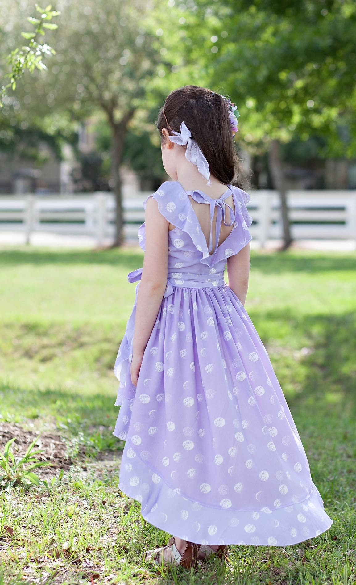 Moondance Fabric Dress Hawthorne and Violette Fields Threads