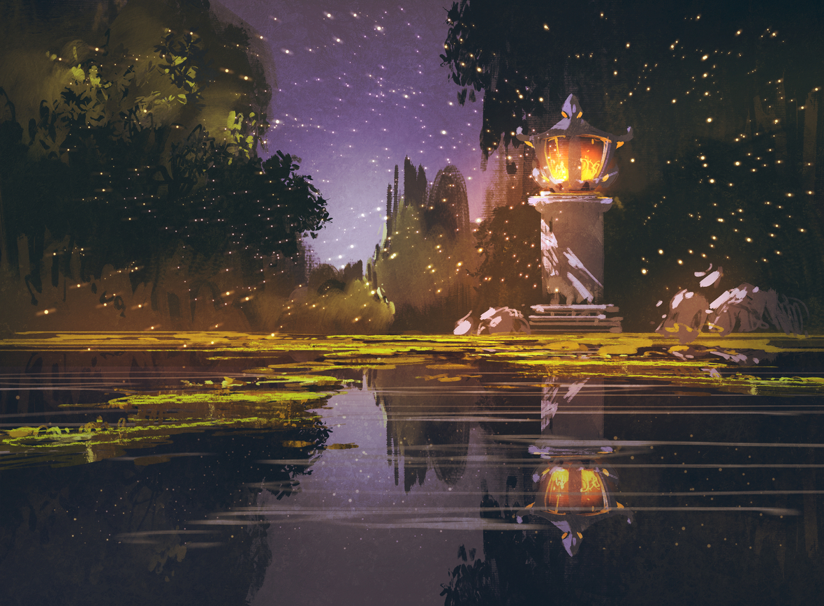 graphicstock-night-landscape-with-stone-lanternillustration-painting HdzSJn8oql