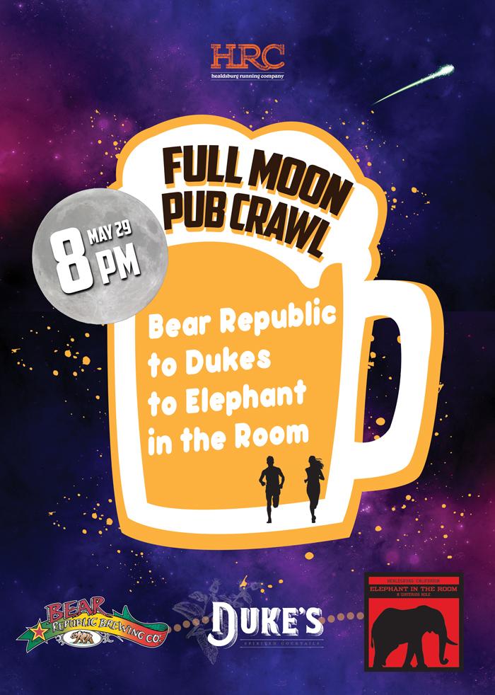 pub crawl full moon