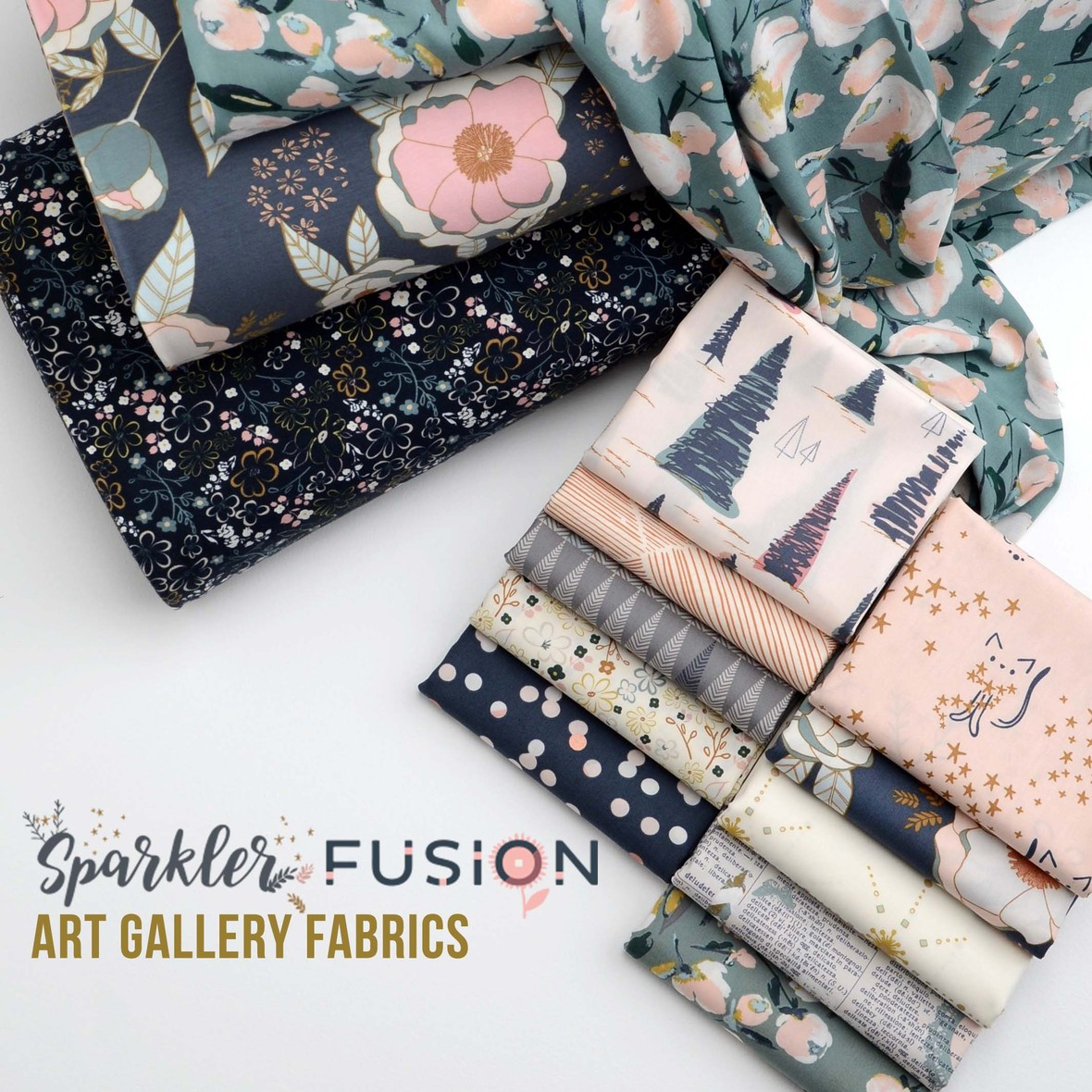 Sparkler Fusion Fabric Poster