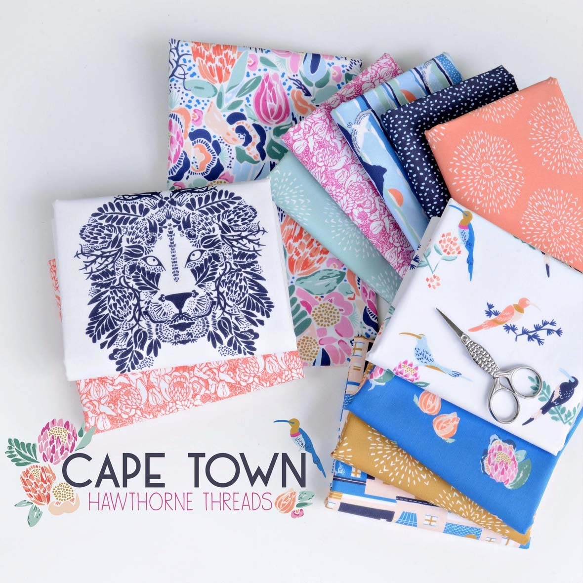 Cape Town Fabric Poster Hawthorne