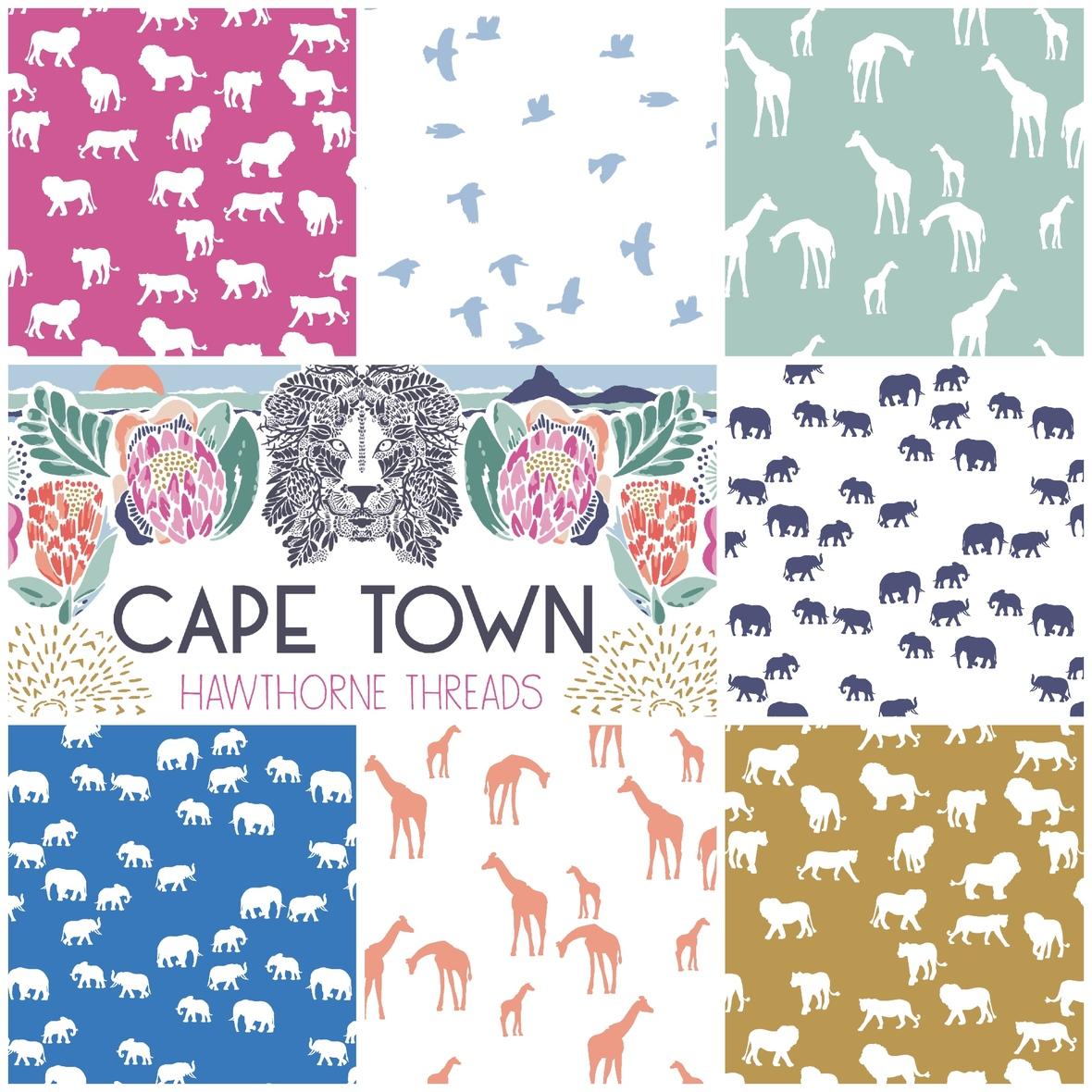 Hawthorne Cape Town Fabric Coordinates