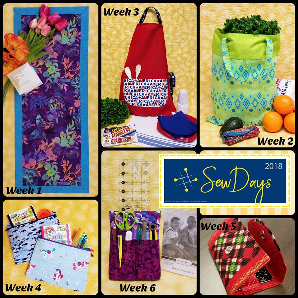 Sew Days projects