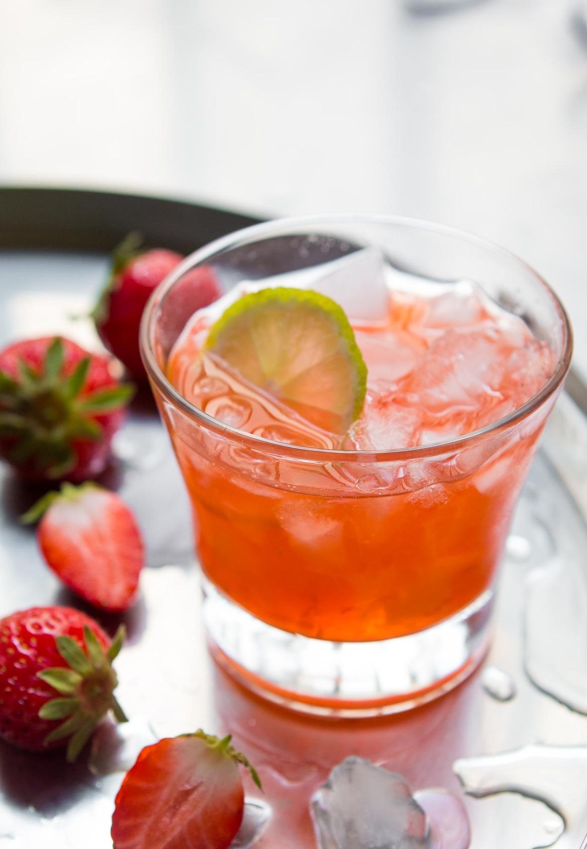 Strawberry Margaritas Limes-10
