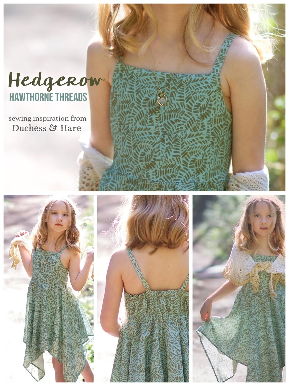 Dutchess and Hare Hedgerow Fabric Dress