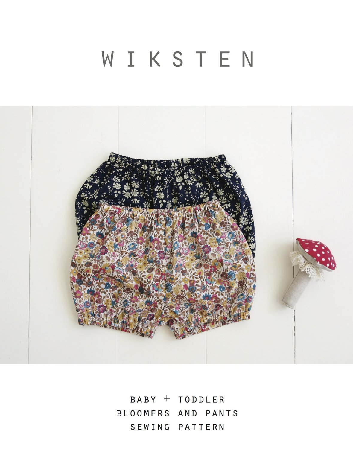 wiksten bloomers and pants sewing pattern
