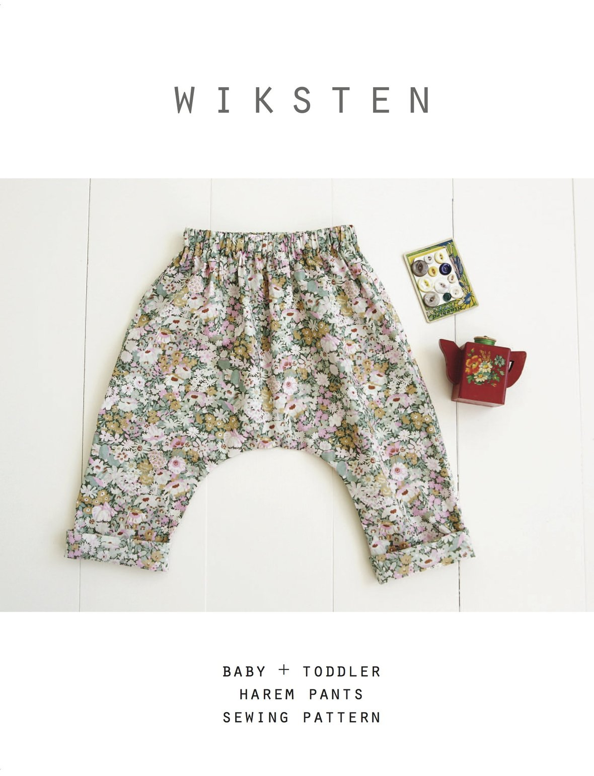wiksten harem pants sewing pattern
