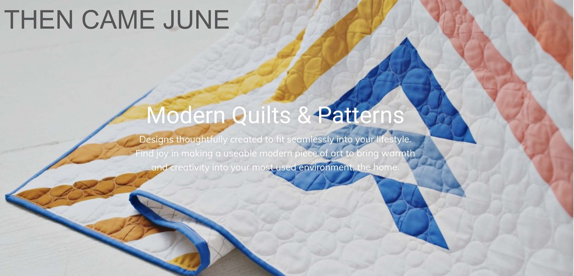 Then Came June Quilt Patterns C