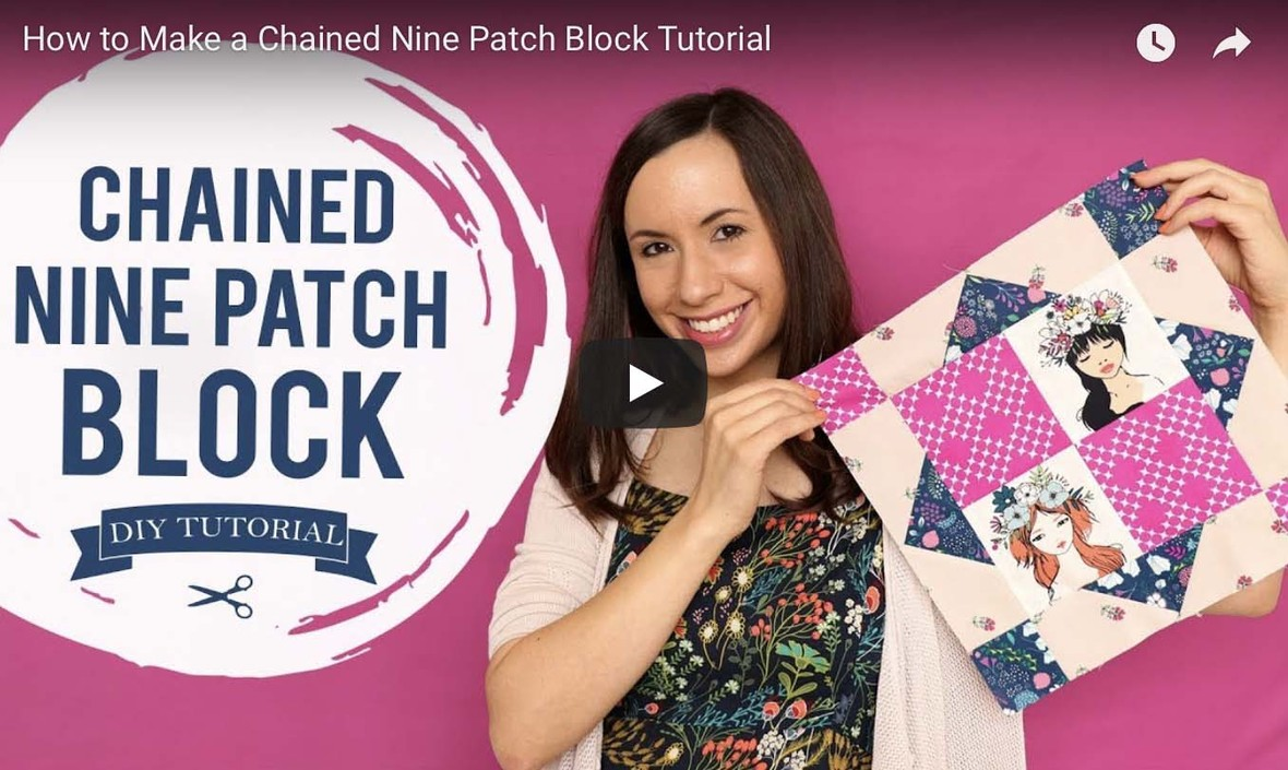 FLOWER CHILD BLOCK TUTORIAL VIDEO