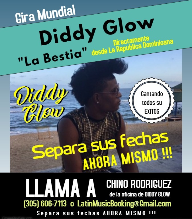 World Tour Flyer Diddy Glow short