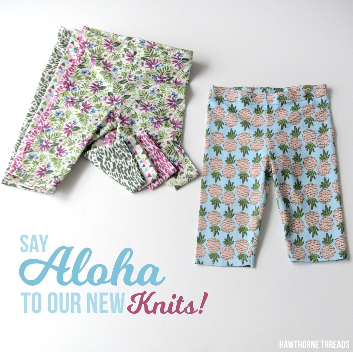 Aloha Hawthorne Jersey Knits Promo