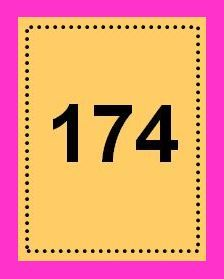 174 muted or on hot pink
