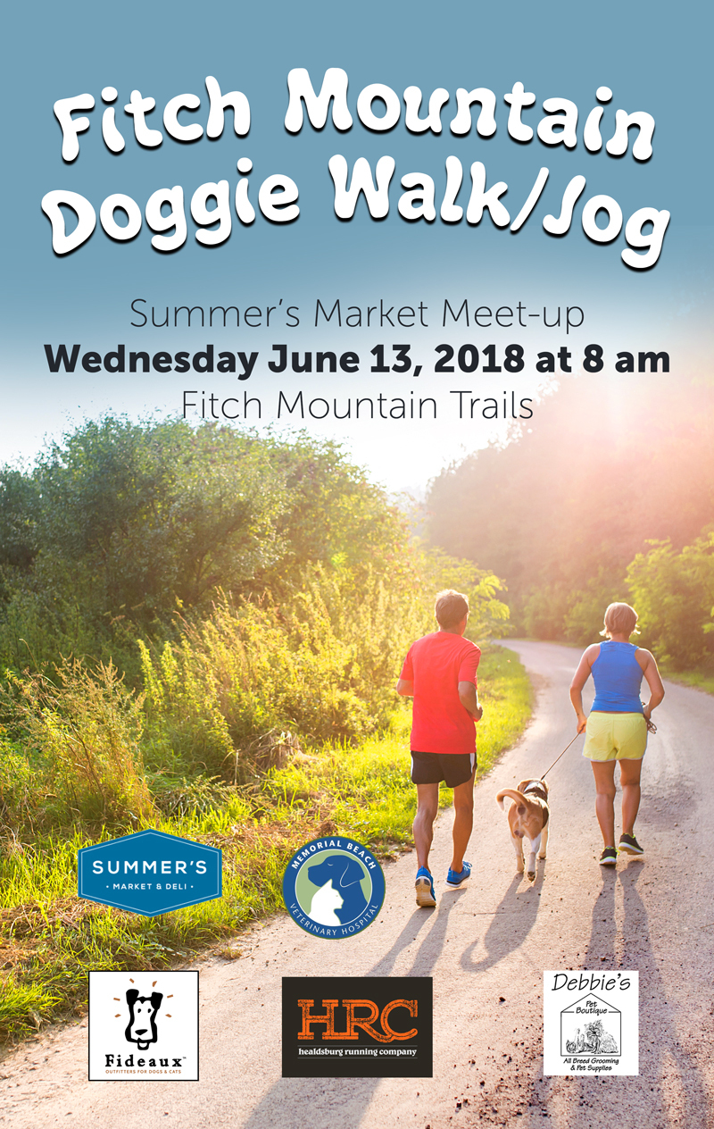 doggie walk poster