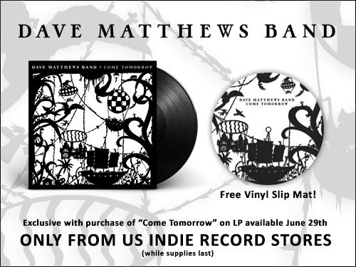 Dave Matthews Band Slip Mat Banner