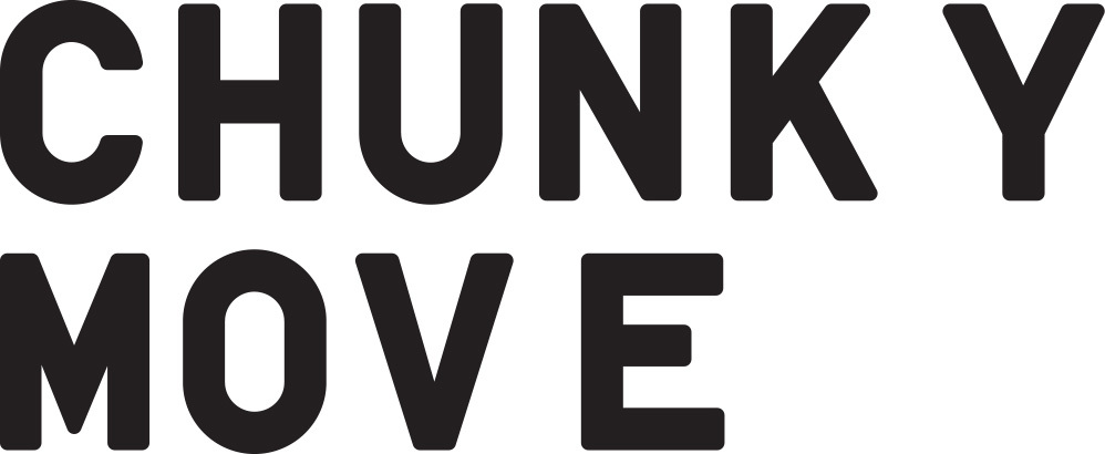 Chunky move logo black