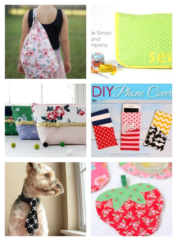 7 Cute Sewing Projects Just For You