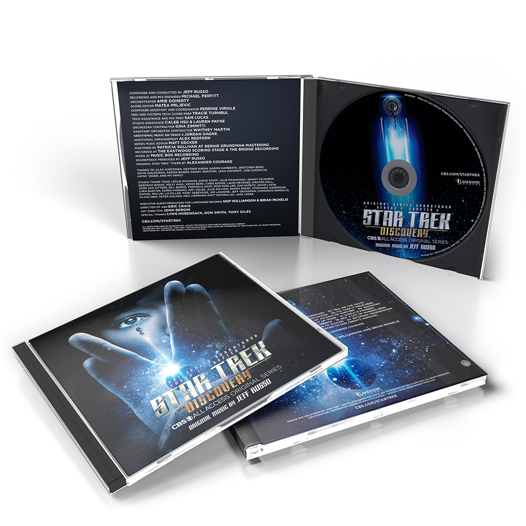 Star Trek Discovery C2 CD beauty white 1080