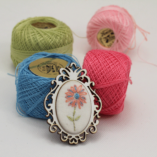 mini-brooch
