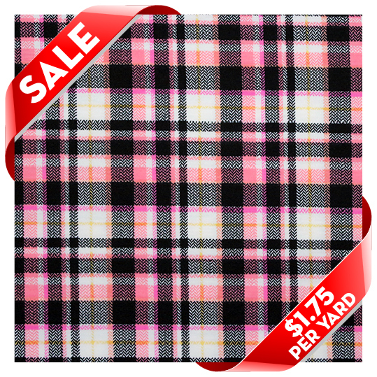 8b1ce00cfd9 Girl Charlee Fabrics 24 Hour FLASH Sale: All Colorful Plaid Cotton ...