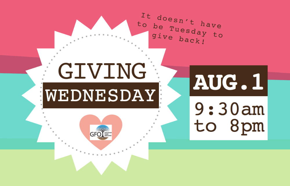 Giving Wednesday8-2-18