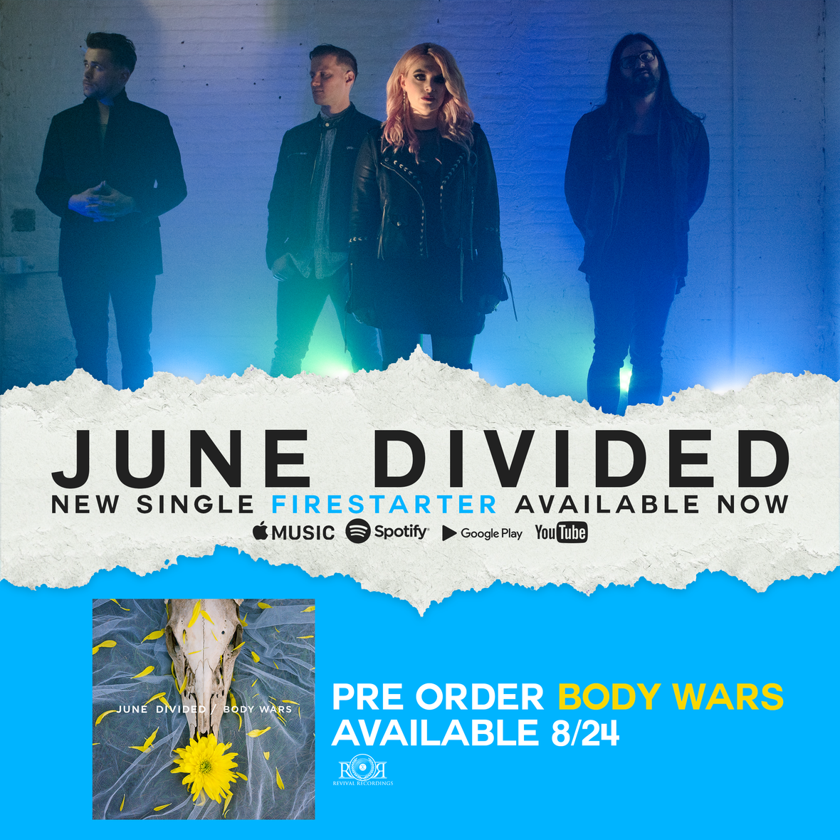 june divided new single