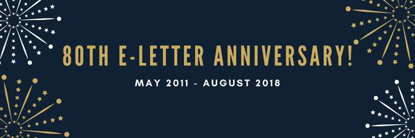 80th e-letter anniversary
