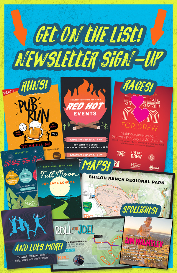 newsletter signup poster
