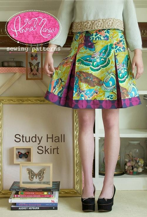 anna maria horner- study hall skirt