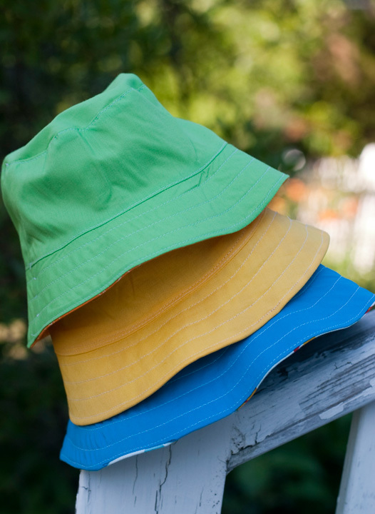 stitchcraftcreations-bucket hat pattern available on Oliver and S