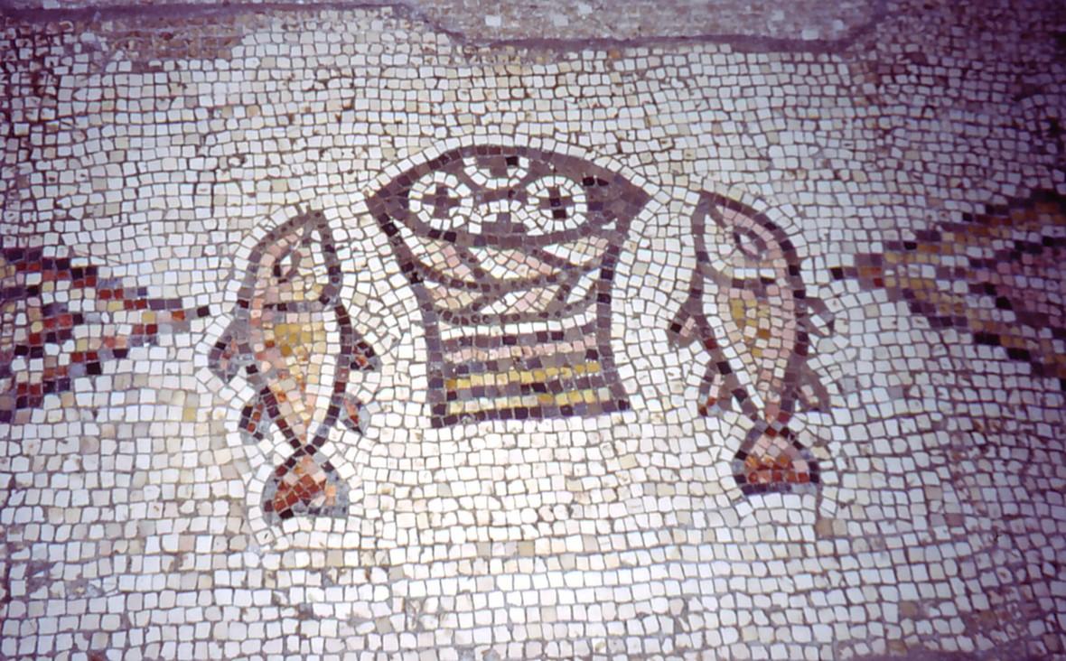 Tabgha Church Mosaic Israel