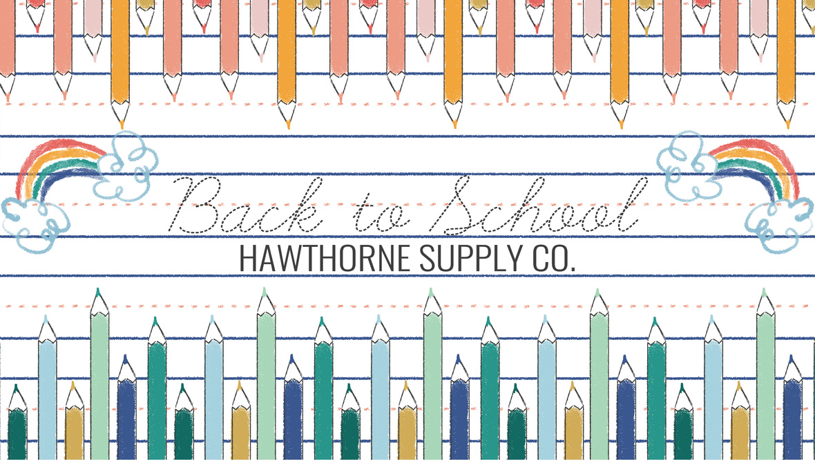 Back To School Fabric at Hawthorne Supply Co