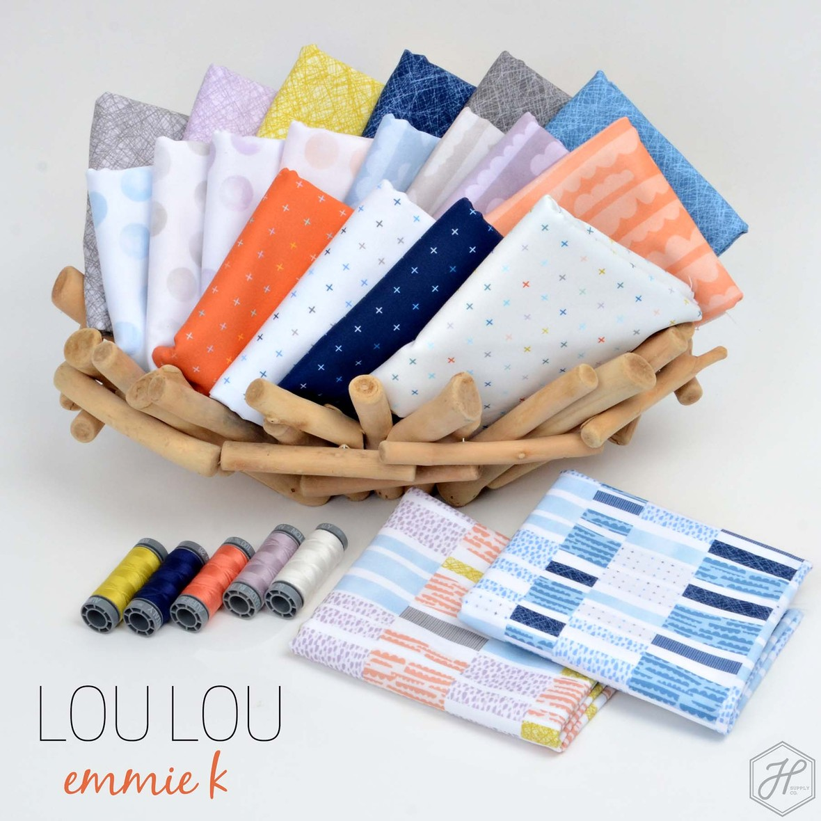 Lou Lou Fabric Emmie K at Hawthorne Supply Co