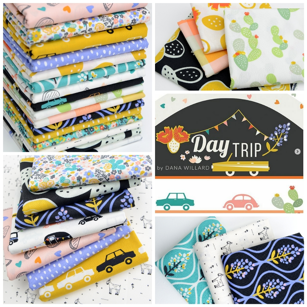 Day Trip Fabric Poster