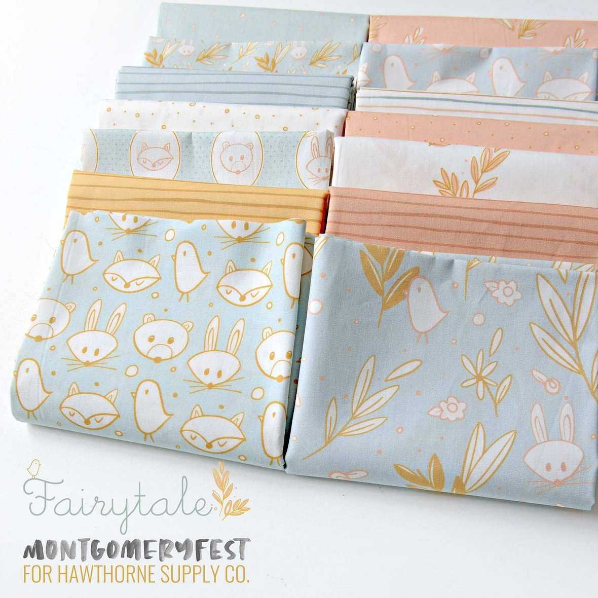 Fairytale Fabric MontgomeryFest available at Hawthorne Supply Co