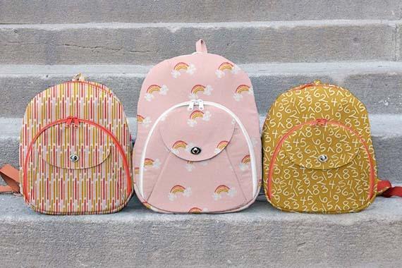 Pink Cumberland Backpacks 3