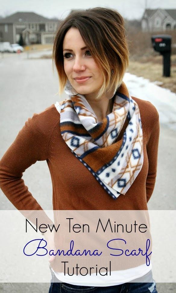 onelittlemomma- free scarf tutorial