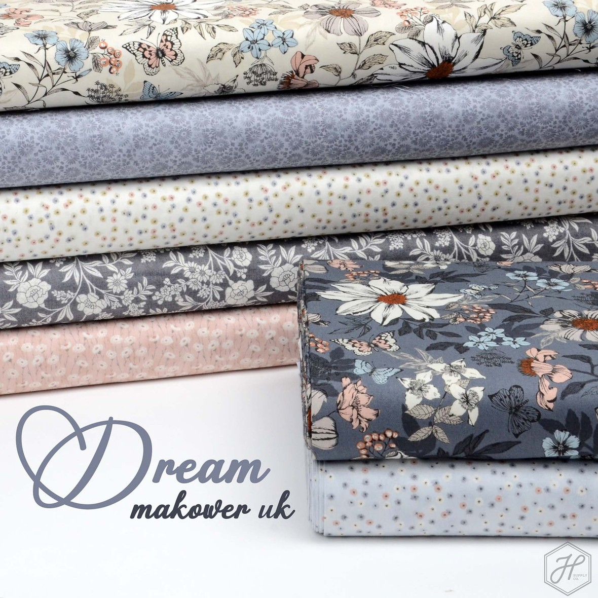 Dream Fabric Poster Makower Uk at Hawthorne Supply Co