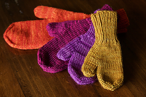 Simplest mittens