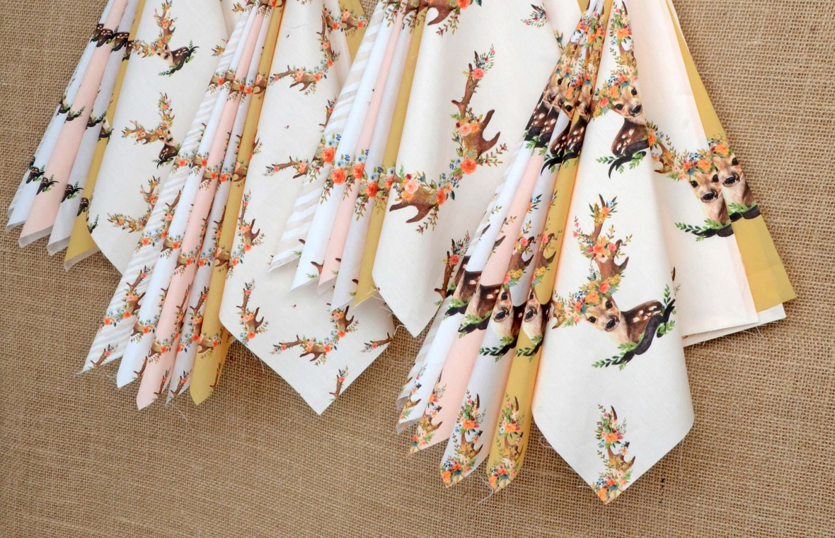 Meadow Deer Fabrics Shopcabin for Hawthorne Supply Co b