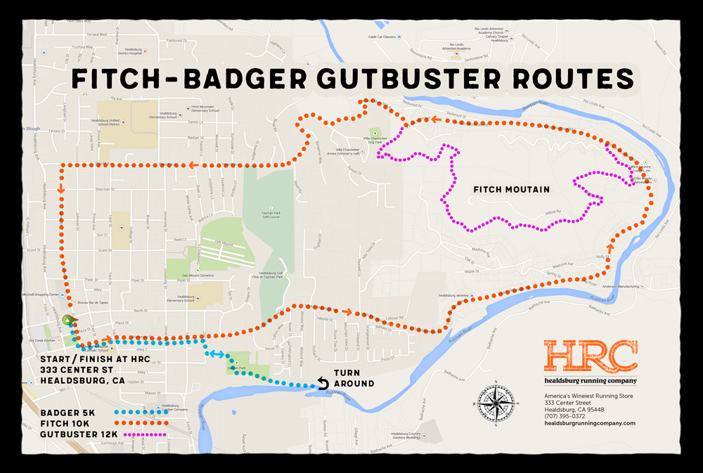 fitch badger gutbuster map