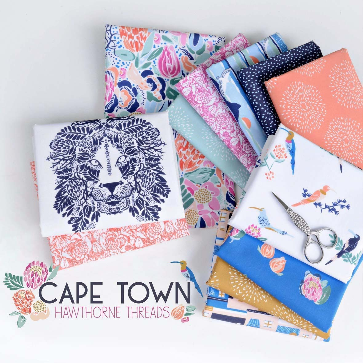 Cape Town Fabric Poster Hawthorne b