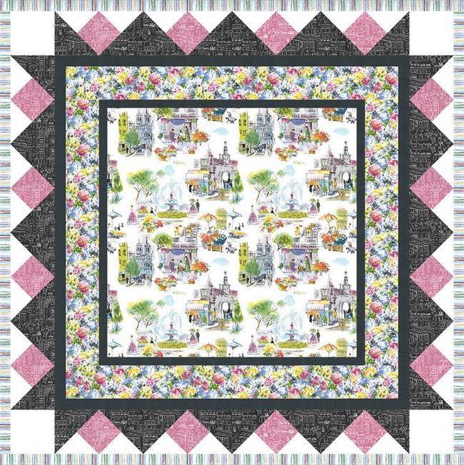 micheal miller website- free quilt pattern