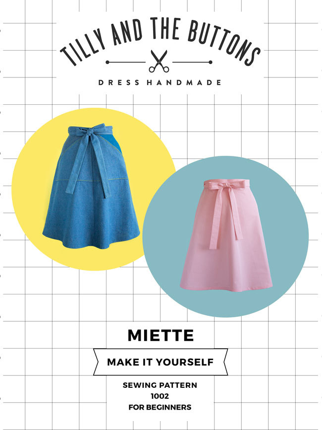 Miette-sewing pattern cover