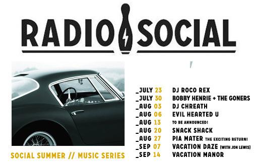 radiop social -music-series