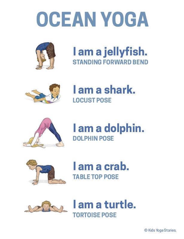 Learn About Ocean Animals Through Fun And Movement