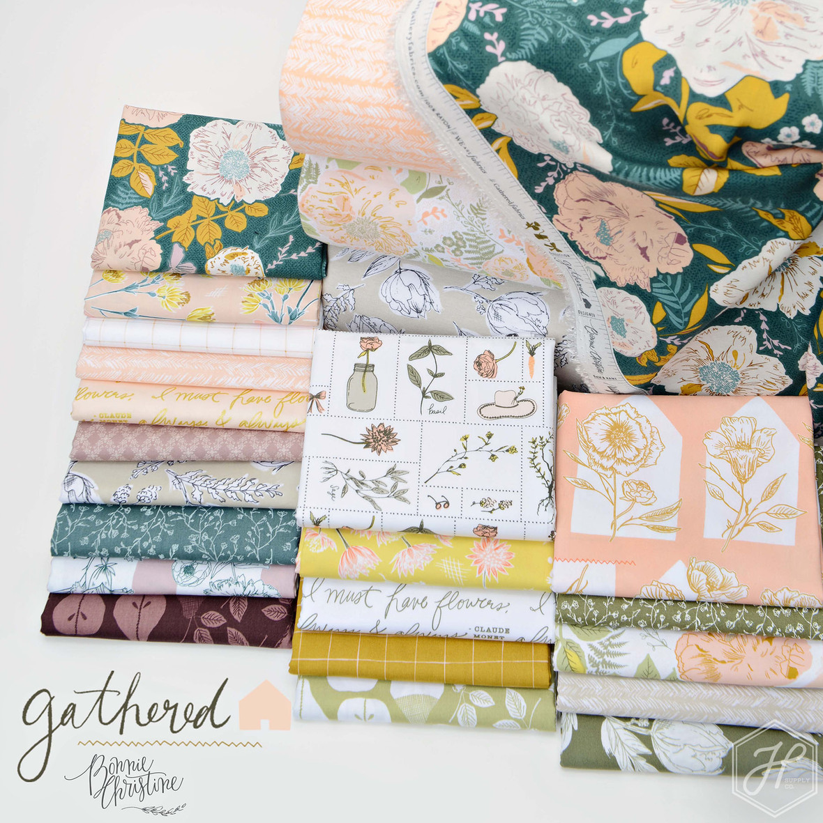 Gathered Fabric Poster 3.1