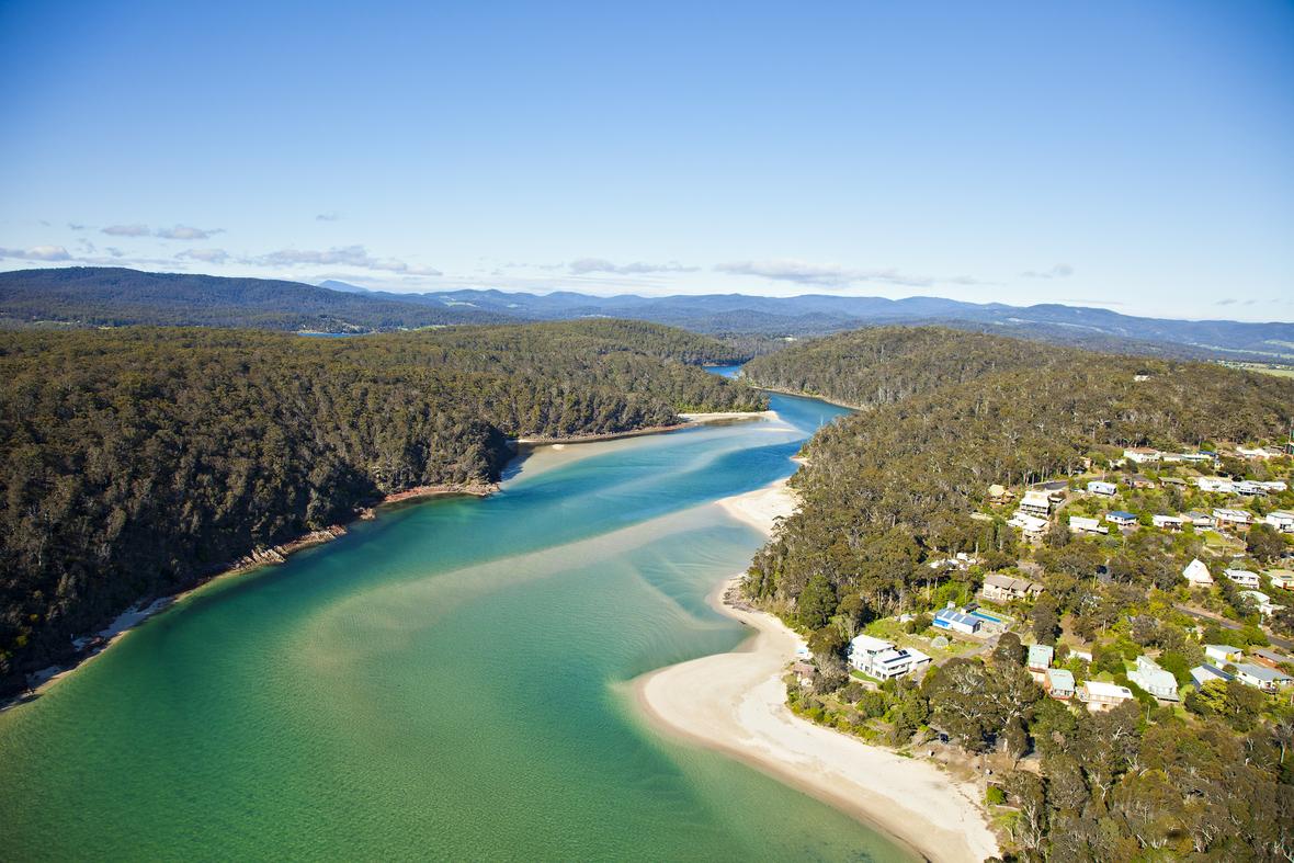Pambula River Mouth Sapphire Coast NSW copy