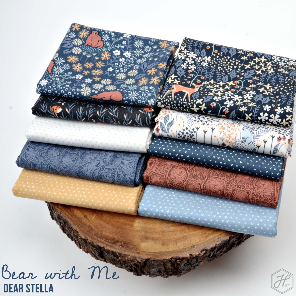 Bear with Me Fabric Dear Stella at Hawthorne Supply Co