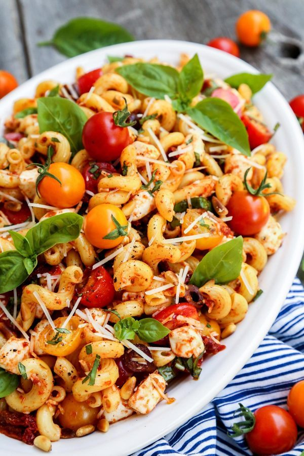 pasta-with-sundried-tomatoes AFarmgirlsDabbles AFD-2-600x900